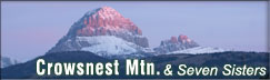 Crowsnest Mtn & Seven Sisters Gallery
